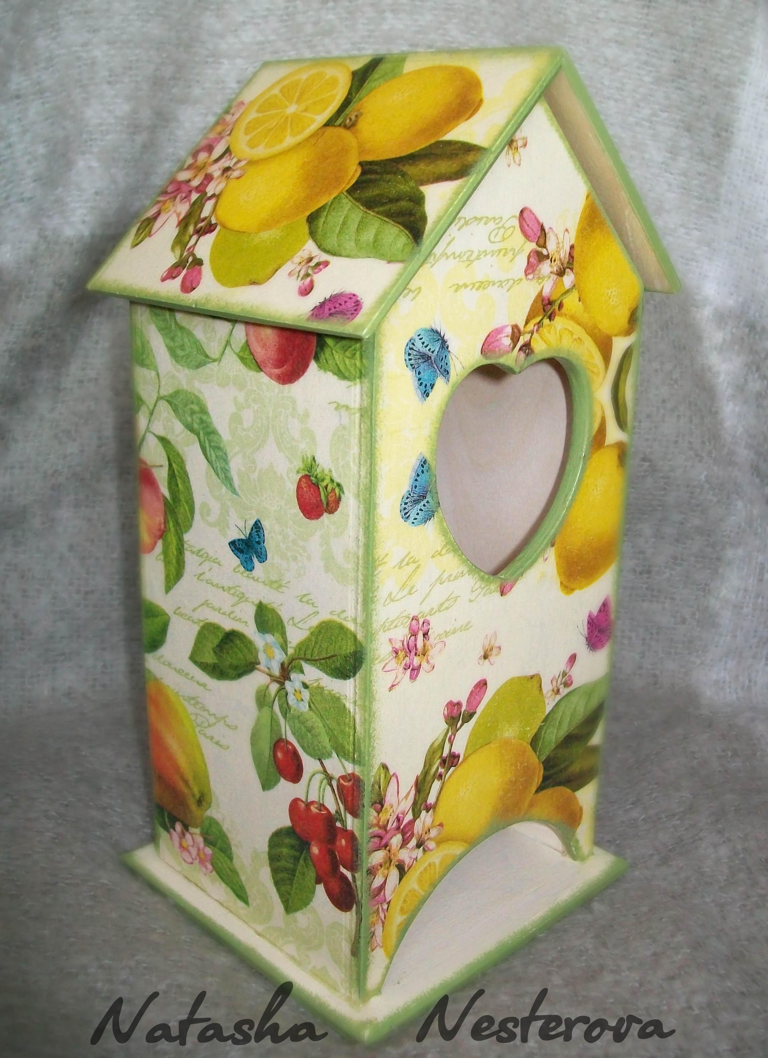 Как сделать чайный домик для чайных пакетиков 123